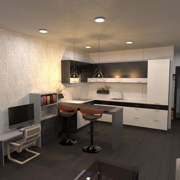 nuotraukos butas baldai apšvietimas valgomasis аrchitektūra idėjos
