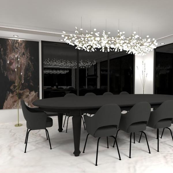 photos maison meubles décoration eclairage salle à manger idées