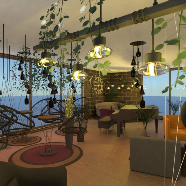 foto arredamento illuminazione caffetteria architettura idee