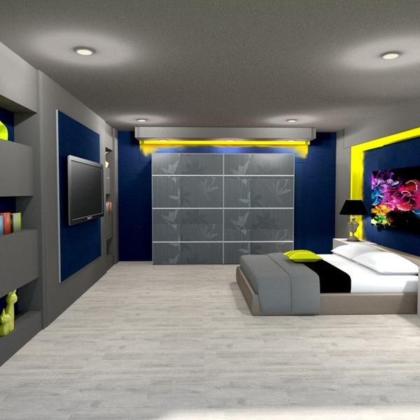 foto decorazioni camera da letto illuminazione idee