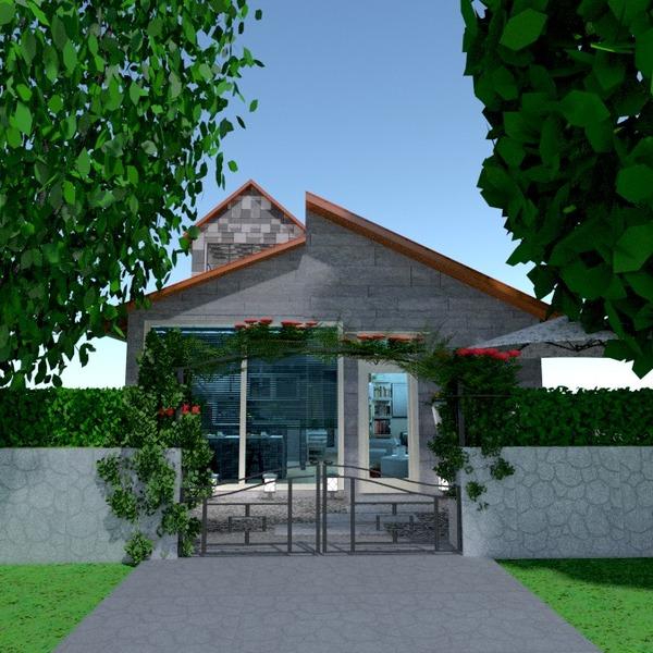 nuotraukos butas namas terasa baldai idėjos