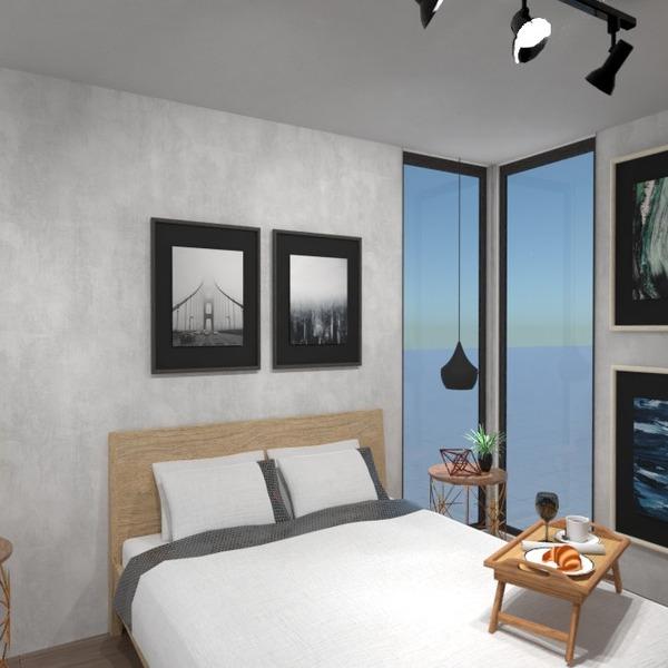 foto appartamento decorazioni camera da letto monolocale idee