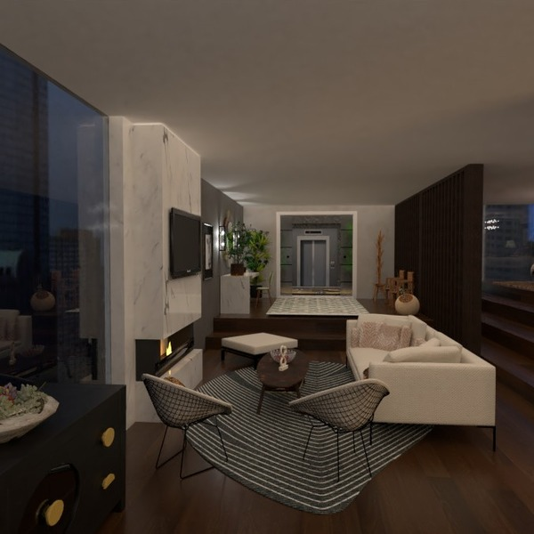 fotos apartamento muebles decoración salón iluminación ideas
