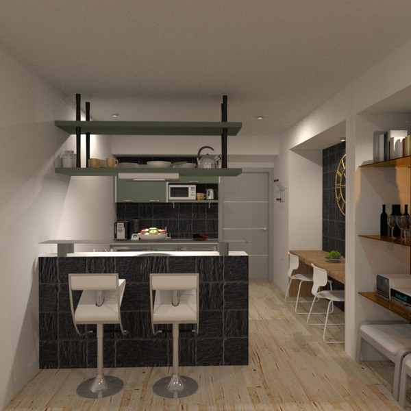 foto angolo fai-da-te cucina illuminazione caffetteria sala pranzo vano scale idee
