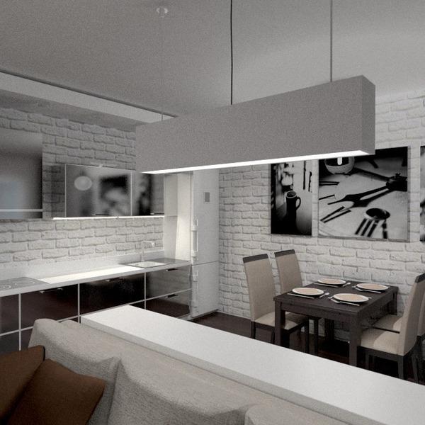 идеи квартира мебель гостиная кухня освещение столовая студия идеи