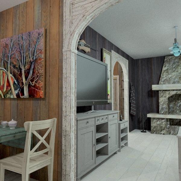 foto decorazioni angolo fai-da-te sala pranzo idee