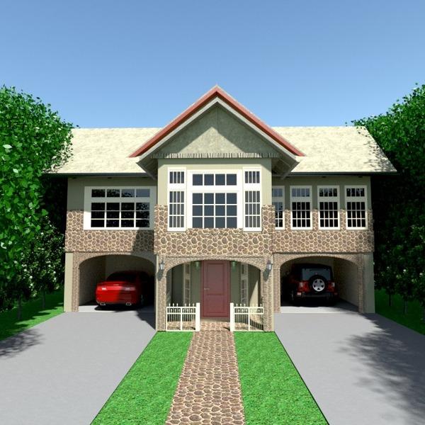 идеи дом гараж улица ландшафтный дизайн архитектура идеи