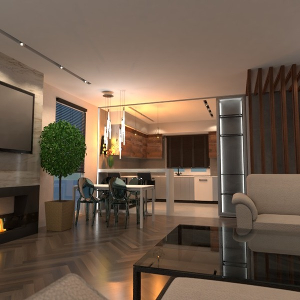 zdjęcia dom pokój dzienny kuchnia jadalnia mieszkanie typu studio pomysły