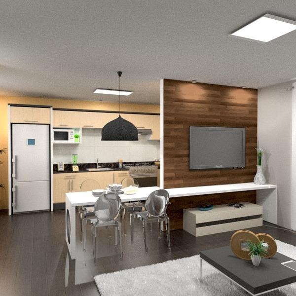 fotos apartamento mobílias decoração cozinha iluminação utensílios domésticos cafeterias sala de jantar ideias