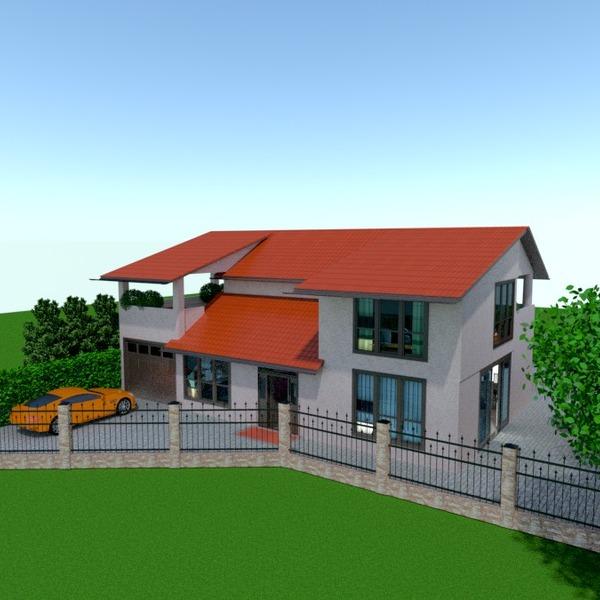 foto casa garage esterno paesaggio architettura idee