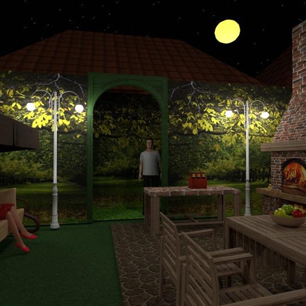 fotos terraza muebles decoración bricolaje iluminación paisaje ideas