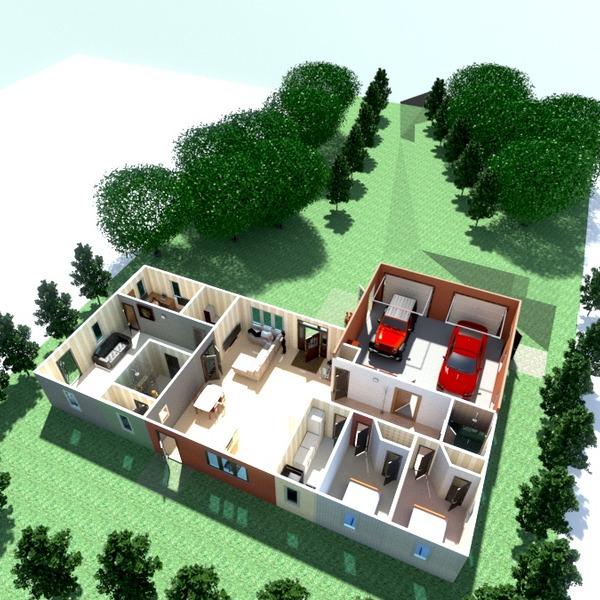 foto casa garage esterno idee