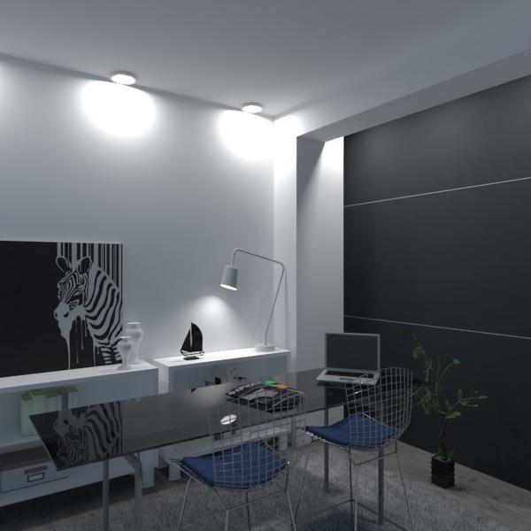 fotos apartamento decoração escritório estúdio ideias