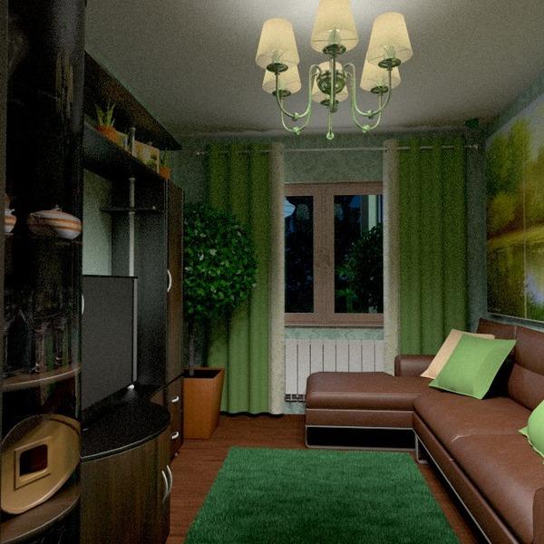fotos muebles decoración salón iluminación trastero ideas