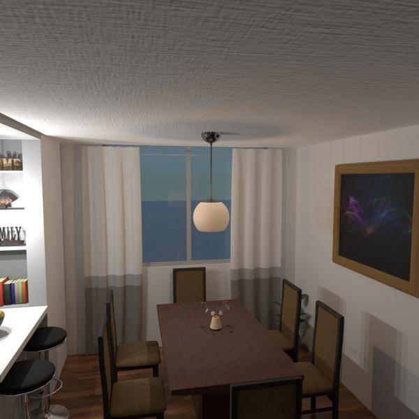 fotos apartamento casa decoração sala de jantar ideias