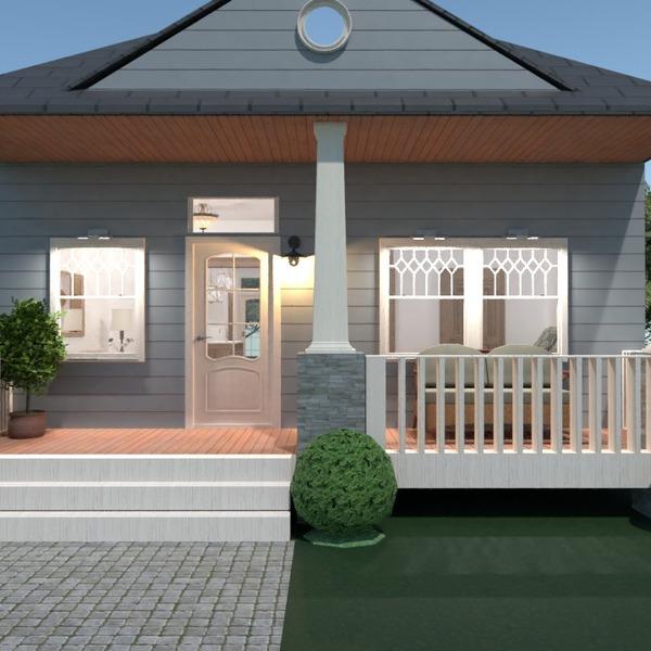 foto casa esterno illuminazione paesaggio vano scale idee