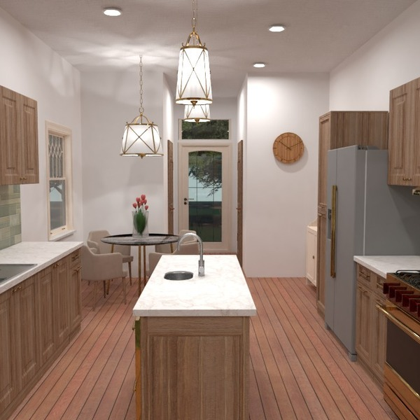 photos house kitchen lighting household architecture ideas