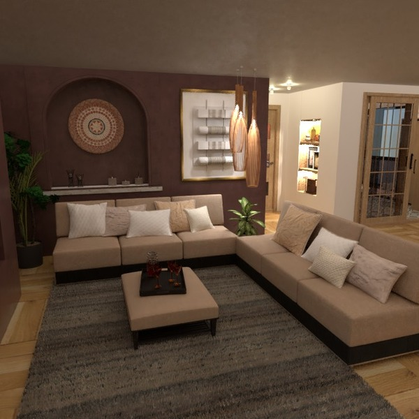 photos maison meubles salon eclairage idées