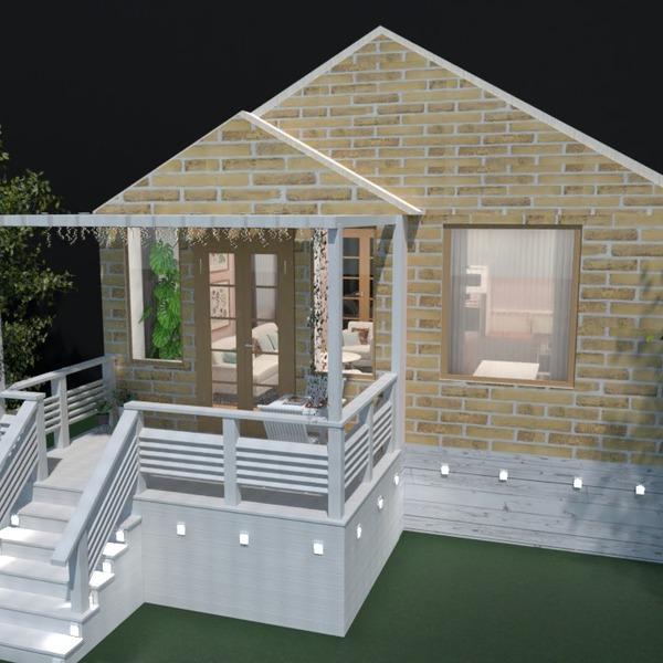 photos maison décoration extérieur eclairage maison idées
