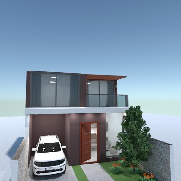 photos maison terrasse garage extérieur rénovation idées