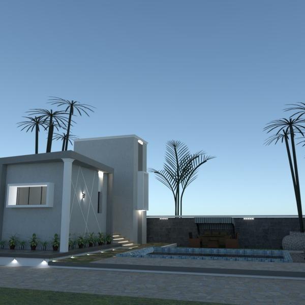 fotos área externa paisagismo arquitetura ideias