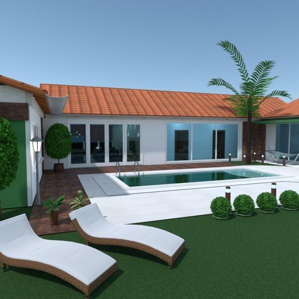 foto casa veranda camera da letto garage cucina esterno illuminazione architettura idee