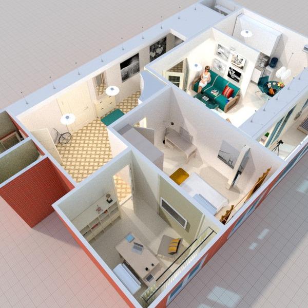photos appartement décoration chambre à coucher salon salle à manger idées