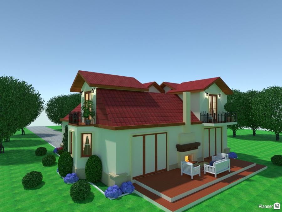 Casa Colonial Campestre Ideas Para Casas Planner 5d