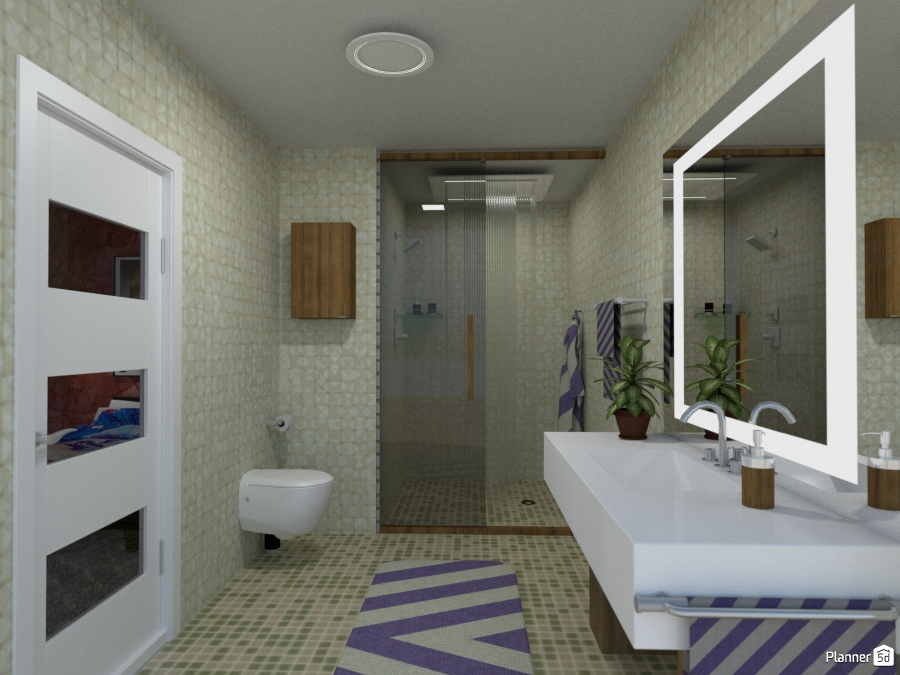 Bagno apartamento ideas planner 5d for Muebles cuarto bano
