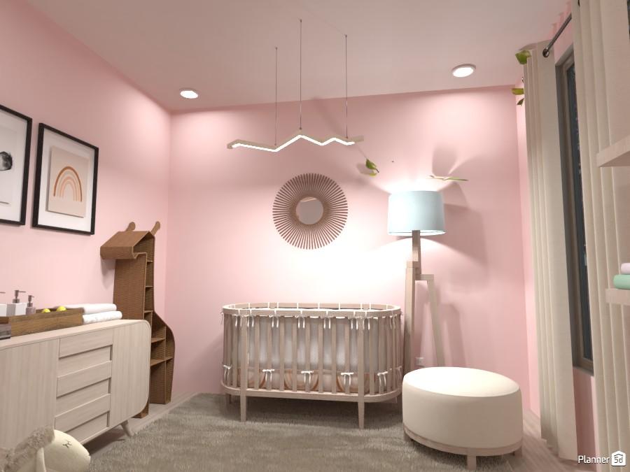 Baby Girl Nursery 4174827 by Arita image
