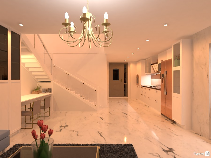 Marble two-story house 83123 by rilly image