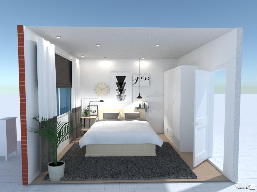 Scandinavian bedroom 1791301 by Katie Ngo image