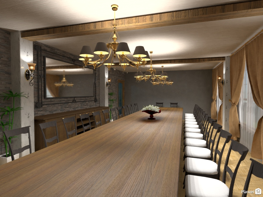 comedor - Ideas para casas - Planner 5D