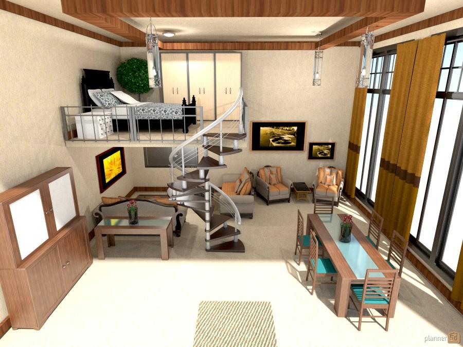 tall window condo loft 902232 by Joy Suiter image