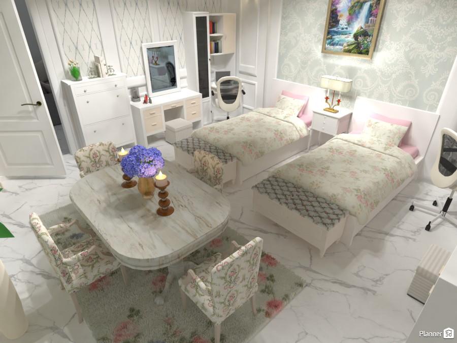 Luxury Shabby new classic Bedroom 3370691 by Mrs AKA image