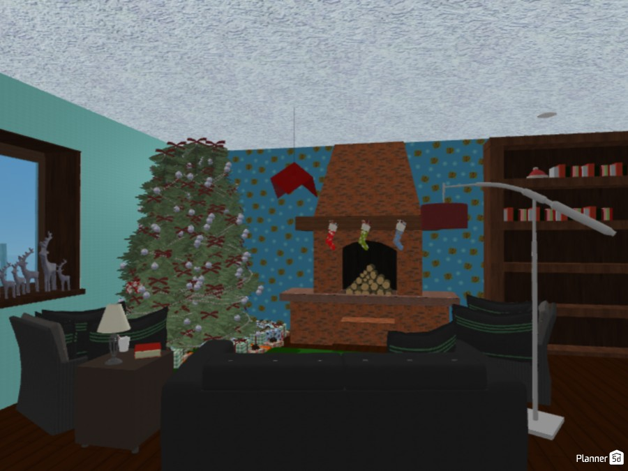 Christmas Cottage 83301 by Rainfall Sienna image