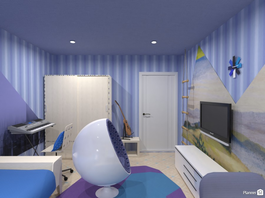 Спальня для подростка 4045871 by Ольга image