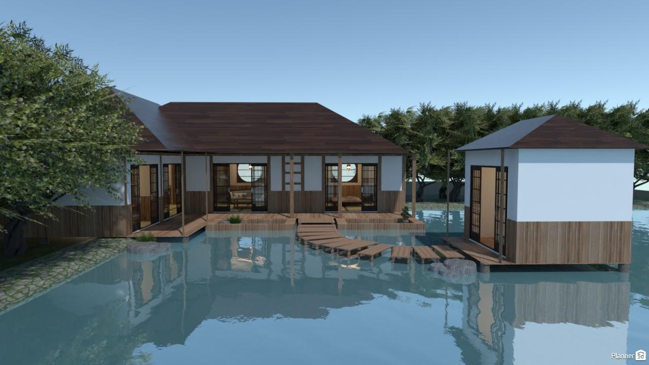 Casa estilo japonés. 3824042 by Hall Pat image