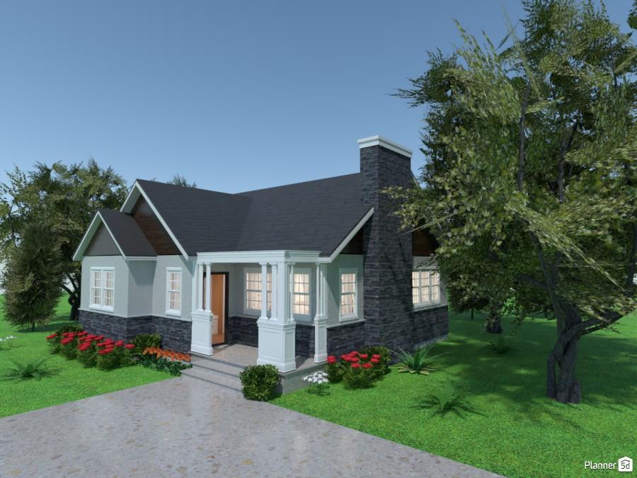 Casa una planta 3563317 by MariaCris image