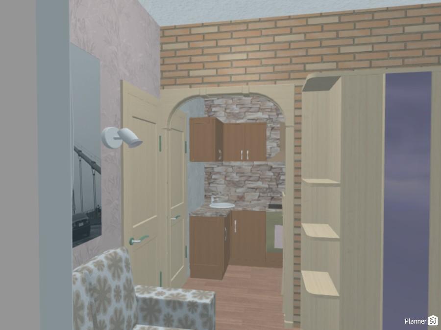 квартира-студия 16 кв.м 70894 by Ирина Михайловна image