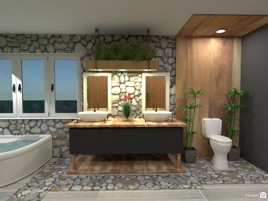 Nature Theme Bathroom #2 3736676 by Erin image