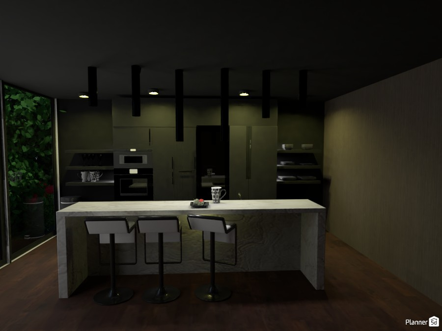 Dark Kitchen 3049743 by ESK image