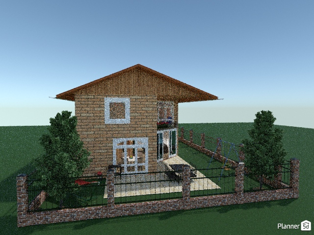 Brick family house 71789 by Gabes image