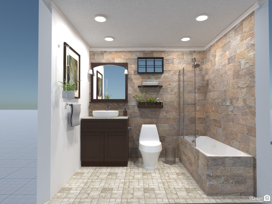 small bathroom 4052307 by Obnova Homes image