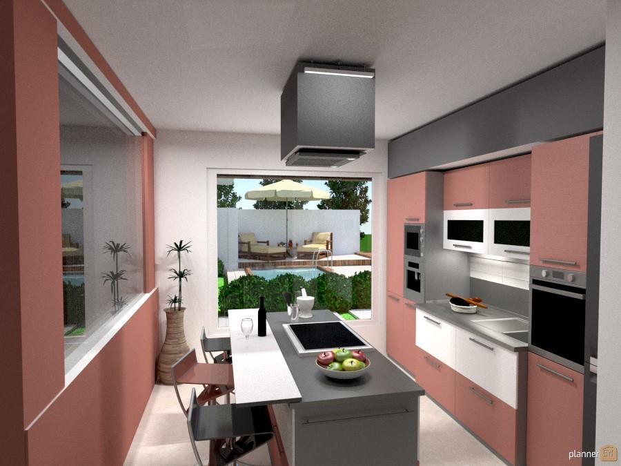 Nice Ideas Kitchen Landscape Household Ideas