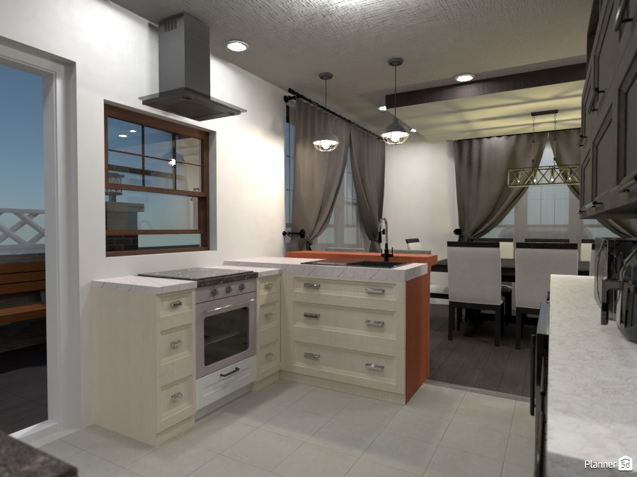 Suburban House 81896 by RLO image