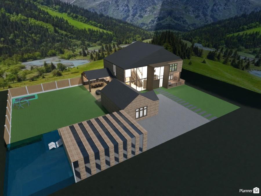 modern mountain house 4330427 by Mia image
