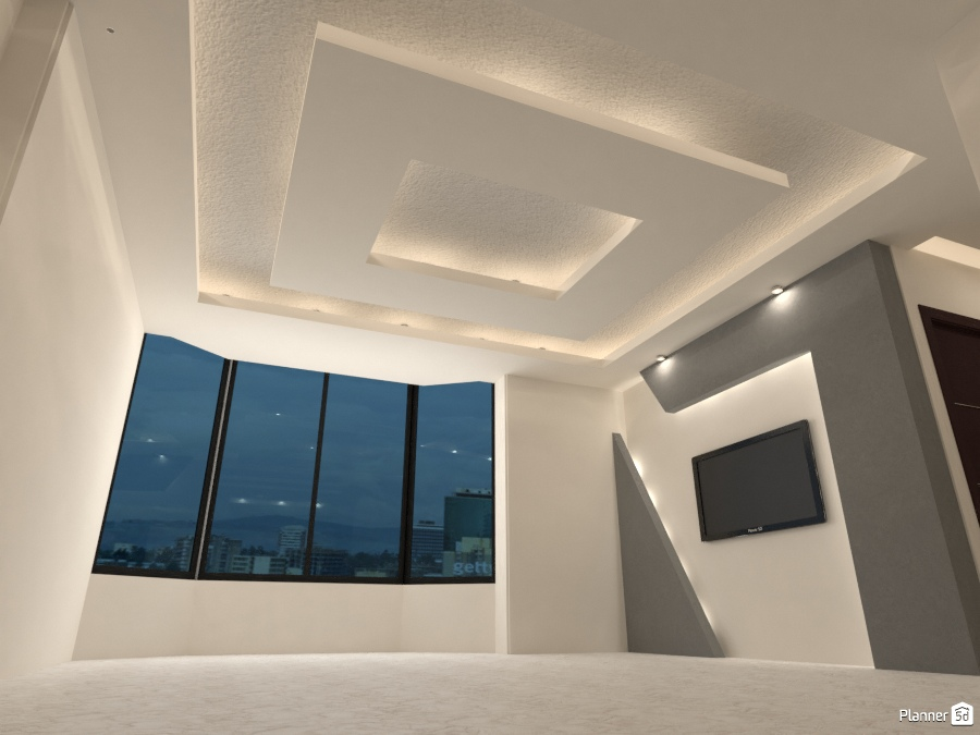 False Ceiling And Wall Designs Free Online Design 3d House Ideas Khaled By Planner 5d