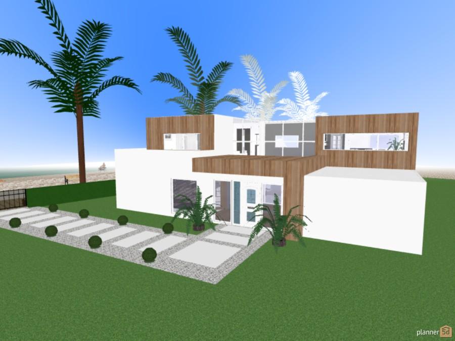 Beach Modern House nº5 60704 by Maria Cormos image