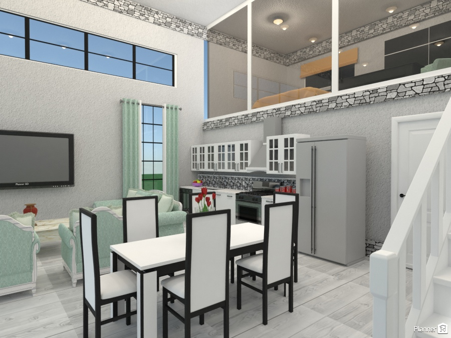 bright n open - House ideas - Planner 5D
